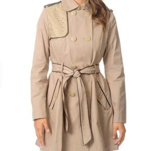 Besty Johnson Double Breasted Trench Coat